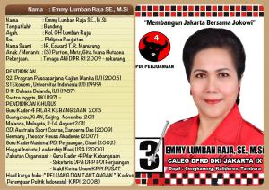 Emmy Lumban Raja, SE.MSc