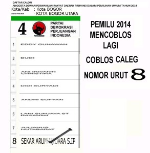Sekar No.urut 8 kota Bogor, Bogor Utara