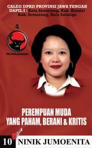 Ninik Jumoenita Caleg Jawa Tengah I