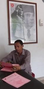 Efendi Tampubolon (Pak Bob) Petugas Administrasi